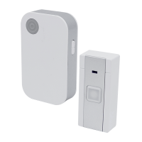 WIRELESS DOORBELL 5023/1 DC 36 MELODIES