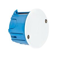 DISTRIBUTION BOX FOR PLASTERBOARD DIAMETER 65MM