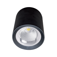 FLCOM LED DOWNLIGHT OM 40W 230V 4000K 60° BLACK
