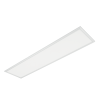 LED PANEL 45W 4000K-4300K 1195mm/295mm, WHITE FRAME IP44