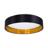 IVOR LED CEILING LAMP 22W 4000K BLACK/GOLD