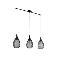 MALI CHANDELIER 3xE27 BLACK