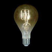 LED VINTAGE LAMP DIMMABLE 8W E27 2800-3200K SMOKED  D:130