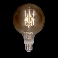 LED VINTAGE LAMP DIMMABLE 8W E27 2800-3200K GOLDEN  D:150