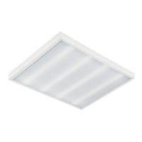 STELLAR LED PANEL SQUARE  36W WHITE 595MM/595MM/19MM