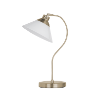 MOLLY TABLE LAMP 1XE27 ANTIQUE BRASS H480mm