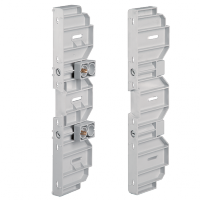 PAIR OF UPRIGHTS FOR RAIL DIN AND PANELS DP5004