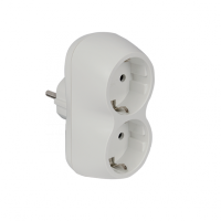 ADAPTER DOUBLE WHITE
