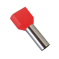 INSULATED CABLE TERMINALS TЕ1008/RED (100 pcs. per pack)