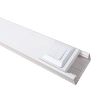 SINGLE FRAME FOR PLASTIC TRUNKING