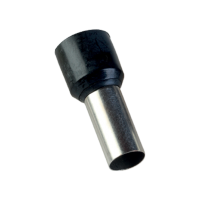 INSULATED CABLE TERMINALS E 25-16/BLACK (100 pcs. per pack)