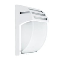 GARDEN WALL LAMP E27 IP44 WHITE