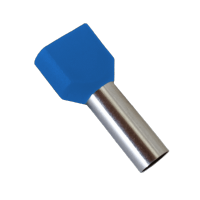 INSULATED CABLE TERMINALS TЕ7508/BLUE (100 pcs. per pack)
