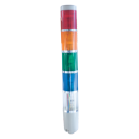 SIGNAL LIGHT COLUMN LTA205-2 12V RED, GREEN