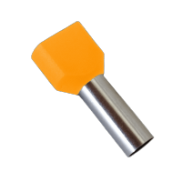 INSULATED CABLE TERMINALS TЕ4010/ORANGE (100 pcs. per pack)