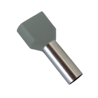 INSULATED CABLE TERMINALS TЕ2510/GREY (100 pcs. per pack)