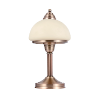KRISTA TABLE LAMP 1XE27 GOLDEN COOPER BRASS H330mm