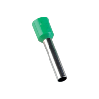 INSULATED CABLE TERMINALS E 6018/GREEN (100 pcs. per pack)