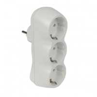 ADAPTER TRIPPLE WHITE